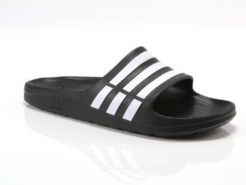 more photos 84a2d 8a1f9 Adidas Duramo Slide noire big