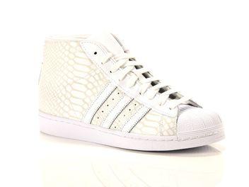 sports shoes 36530 4e261 Adidas Pro model blanche big