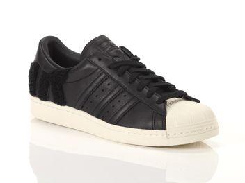 Adidas Superstar 80s Noir Uomo e donna AQ0