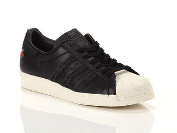 Adidas Superstar 80s Noir Homme BA7778