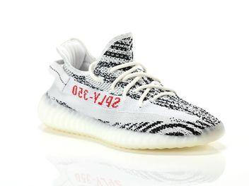 best website 1b85e 7b348 Adidas Yeezy 350 V2 Zebra Blanc Uomo e donna CP9654